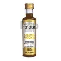 Top Shelf Caramel Vodka...