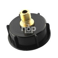 "2"" Cap With Brass Pin Valve..."