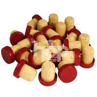 Plastic Top Red Flanged...