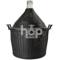 34 Litre Glass Carboy with...