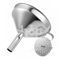 Stainless Steel Funnel with...